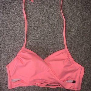 Pink Swim Top